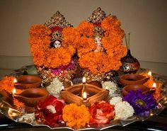 pooja  on Diwali Festival