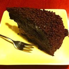 Blackout Chocolate cake! Looks so yummy!
