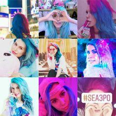 Youtubers, Dreadlocks, Sea, Hair Styles, Beauty, Phone Backgrounds, Awesome Hair, Kawaii Drawings, Celebs
