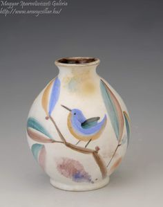 Vase, Ceramics, Bird, Artist, Home Decor, Hall Pottery, Pottery, Decoration Home, Flower Vases