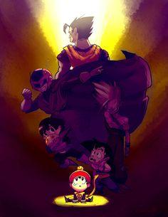 Amazing Collection of Dragon Ball Fan Art   Abduzeedo Design Inspiration