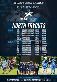 Registration open for @BlueStarLax North and South boys' tryouts - http://toplaxrecruits.com/registration-open-bluestarlax-north-south-boys-tryouts/