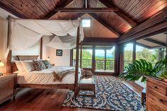 Romantic Master Suite. Hawaiian Vacation Home Rental and Wedding Venue. North Kohala, Big Island, Hawaii. Luxury Vacation Rentals by South Kohala Management. http://hawaiiweddingretreat.com