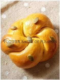 Pumpkin bagels--in Japanese, but you can translate the recipe, google chrome asks you automatically
