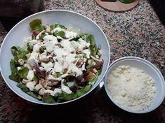 Δροσερή και θρεπτική σαλάτα του Καίσαρα!! συνταγή από Annita Rapata - Cookpad Grains, Rice, Food, Essen, Yemek, Jim Rice, Meals