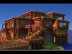 How to install Minecraft mods the easy way Minecraft Beach House, Casa Medieval Minecraft, Modern Minecraft Houses, Images Minecraft, Minecraft Mansion, Minecraft Houses Blueprints, Minecraft City, Minecraft Plans, Minecraft House Designs