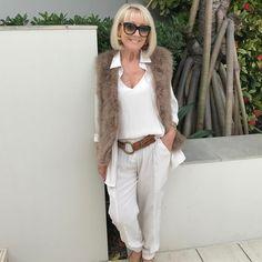 Lighter, White Jeans, Vanilla, Feather, Vest, Ralph Lauren, Fur, Beige, Chic