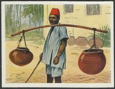 German East Africa Cards Indian Man
