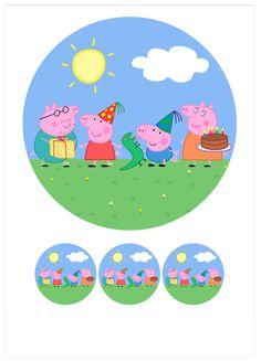 Ver producto: Modelo nº 360: Peppa Pig para tarta