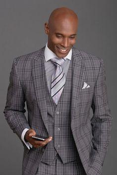 Men's Fashion Suit by Steven Land - Henry Grey Plaid Source by dress man Mens Fashion Suits, Mens Suits, Men's Fashion, Grey Suits, Fashion Menswear, Daily Fashion, Three Piece Suit, 3 Piece Suits, Suit Up