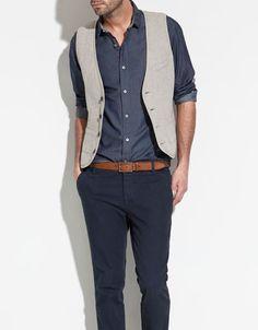 FANTASY WAISTCOAT - Blazers and Jackets - Man - ZARA United Arab Emirates