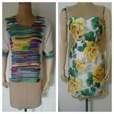 Vestido y blusa
