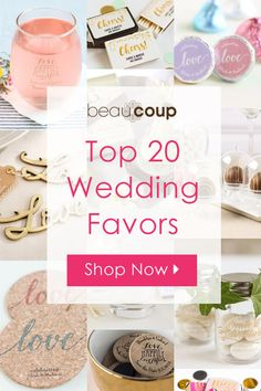 Looking for the perfect wedding favors? We've rounded up our top 20 favorite favors to make your search a little easier! Our customers' favorite picks are the and bottle openers! Wedding Tips, Fall Wedding, Diy Wedding, Wedding Favors, Rustic Wedding, Wedding Reception, Party Favors, Wedding Planning, Dream Wedding