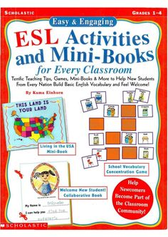 S C H O L A S T I C SL Activities dMini-Books for Every Classroom Terrific Teaching Tips, G a mes, Mini-Books & More to He...