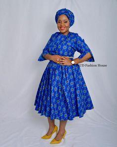 African Attire, African Dress, Pedi Traditional Attire, Seshweshwe Dresses, African Fashion Traditional, Latest African Fashion Dresses, Swag Outfits, Blue Green, Profile