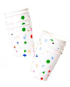 Confetti Paper Cups