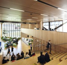 Ravenswood School for Girls by BVN BAMBOO FLOORING AND CEILING
