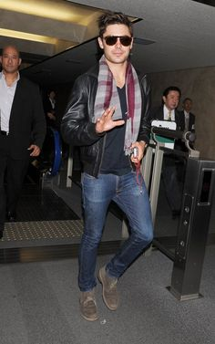 6517c7929c8 Zac Efron wearing my favorite brands - Persol sunnies and Nudie Jeans Persol