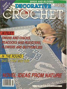 Decorative Crochet JULY 1991 - Number 22 - DEHolford - Álbuns da web do Picasa