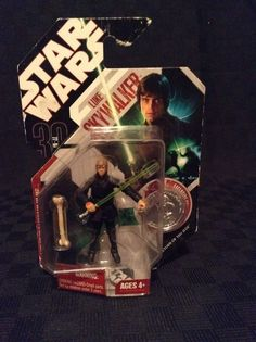 NIP 2007 Hasbro Star Wars Luke Skywalker Jedi Knight Action Figure Play Fun #Hasbro