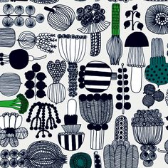 Illustration - illustration - Marimekko www. illustration : – Picture : – Description Marimekko www.creativeboysc… -Read More – Textile Patterns, Textile Design, Color Patterns, Fabric Design, Print Patterns, Textiles, Scandinavian Fabric, Scandinavian Design, Surface Design