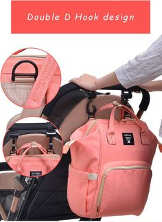 f6898f563 Fashion Mummy Maternity Nappy Backpack Bag Large Capacity – Tac Watches  Nappy Backpack, Backpack Bags