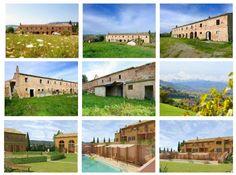 Large farmhouse to be restored for sale in Le Marche with sea view