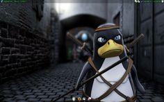 Killer Tux (tux in 3D animation)