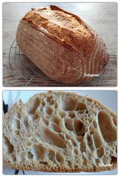 How To Make Bread, Food To Make, Diy Food, Baking Recipes, Bakery, Paleo, Food And Drink, Sweet, Bread