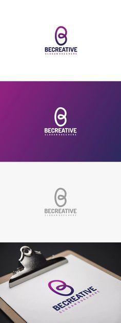 B Letter Logo Template AI, EPS