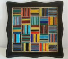 Mosaic Serving Tray  Patchwork by smashglassworks on Etsy, $150.00