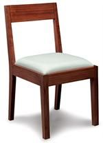 Hazel Upholstered Chair by Greenington Bamboo Furniture at www.Accurato.us