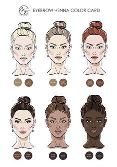 Mircoblading Eyebrows, Henna Eyebrows, Permanent Makeup Eyebrows, Eyebrow Makeup, Eyebrow Tint Professional, How To Do Henna, Microblading Aftercare, Hena, Celebrity Eyebrows