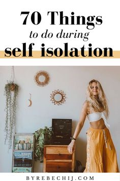 70 Things To Do During Self Isolation! Stay calm, stay home, do lots of interesting things while in quarantine, self isolation is now the top one priority! Wellness Activities, Self Care Activities, Wellness Tips, Health And Wellness, Personal Wellness, Womens Wellness, Healthy Habits, Healthy Tips, Aloe Vera Creme