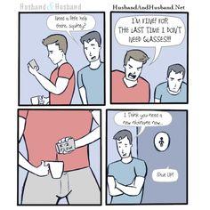 #aaronferrara #jonathanlferrara #humor #gayhumor #gaybloggers #happiness #relationship #husbandandhusband #love #glasses #gaywebcomic #webcomic #gay #lgbt #comic #gaycomic #entertainment