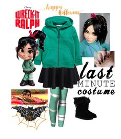 """cute halloween party"" by azharkhadafialr on Polyvore featuring UGG and RALPH"