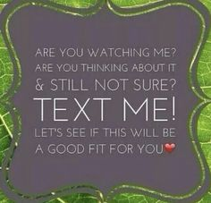 Thrive text me! http://cecilymyers.le-vel.com/