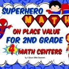 These super hero math activities are an action packed fun way to practice second grade place value skills. What better way to practice than with ch...