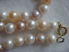 runde Süßwasser Perlen Kette multicolor gänzend geringe Wachstumsmerkmale 7-8 mm