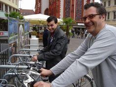 Haciendo turismo de profesores de español con Juan en Würzburg (Alemania).