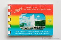 Librillo de postales- Views of Yellowstone National Park -  El Desván de Bartleby C/.Niebla 37. Sevilla