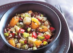 Dairy Farmers of Canada Consumers editorial recipe 2012 Mandarin Salad, Recipe For 2, Salad Recipes, Healthy Recipes, Summer Salads, Kung Pao Chicken, Fruit Salad, All You Need Is, Meal Planning