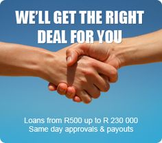 GET A LOAN UP TO R 230 000 ... APPLY NOW | SALoan Finder