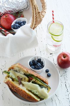 The Ultimate Veggie Hoagie...perfect for a summer picnic!