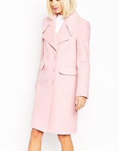 Image 3 of ASOS Coat With 60's Collar