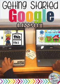 How to get started on Google Classroom in kindergarten.