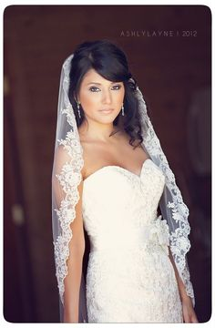 if I get a veil it will look like this