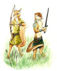 Redwall Warriors by Moiji on DeviantArt