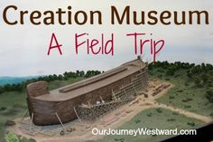 A trip to the Creation Museum is a GREAT way to build Biblical knowledge!  @Answers in Genesis in Genesis in Genesis