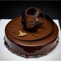 nappage chocolat brillant